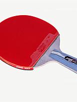 economico -4 Stelle Ping-pong Racchette Ping Pang Legno Gomma da cancellare Manopola corta Brufoli DHS®