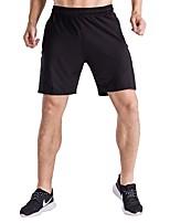 abordables -Homme Shorts de Course Séchage rapide, Respirabilité Cuissard  / Short Exercice & Fitness Polyester Noir L / XL / XXL