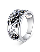cheap -Men's Silver Plated Knuckle Ring - Irregular Classic Vintage Fashion For Wedding Formal