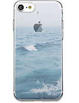 cheap -Case For Apple iPhone X iPhone 7 Plus Pattern Back Cover Scenery Soft TPU for iPhone X iPhone 7 Plus iPhone 7 iPhone 6s Plus iPhone 6s