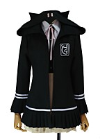 cheap -Inspired by Dangan Ronpa Chiaki Nanami Cosplay Anime Cosplay Costumes Cosplay Suits Other Long Sleeves Cravat Coat Shirt Skirt For Men's