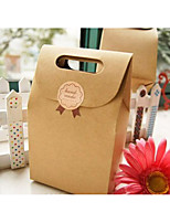 cheap -irregular Kraftpaper Favor Holder with Favor Bags - 1pc