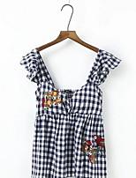cheap -Women's T-shirt - Check Strap