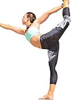 Недорогие -Штаны для йоги Нижняя часть Учебный Йога Быстровысыхающий Фитнес Нормальная Слабоэластичная Спортивная одежда Жен. Йога Аэробика и фитнес