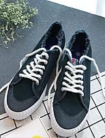 abordables -Homme Chaussures Tissu Eté Confort Basket pour Décontracté Blanc Noir Gris