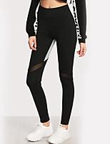 abordables -Femme Sportif Legging - Couleur Pleine Taille haute
