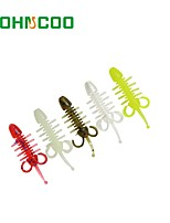 cheap -30pcs pcs Soft Bait PVC Sea Fishing Bait Casting Spinning Jigging Fishing Freshwater Fishing General Fishing Lure Fishing Bass Fishing
