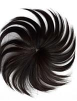 cheap -Men's Remy Human Hair Toupees Capless