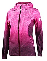 cheap -Women's Hiking Windbreaker Outdoor Windproof Back Country Jacket Single Slider Camping / Hiking Outdoor Exercise