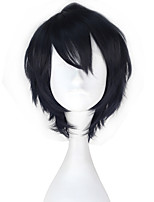 cheap -Cosplay Wigs Seraph of the End Yuichiro Hyakuya Anime Cosplay Wigs 32 CM Heat Resistant Fiber All