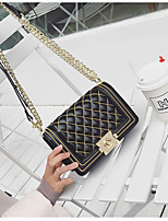 cheap -Women's Bags PU Shoulder Bag Embroidery for Shopping Gold / Silver