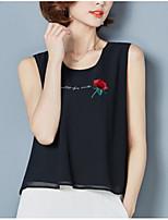 abordables -Tee-shirt Femme, Imprimé Ample