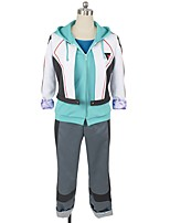 cheap -Inspired by Macross Frontier Cosplay Anime Cosplay Costumes Cosplay Suits Other Long Sleeves Coat Top Pants More Accessories Headwear For