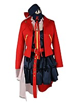 cheap -Inspired by Macross Frontier Cosplay Anime Cosplay Costumes Cosplay Suits Other Long Sleeves Coat Top Skirt More Accessories For Men's