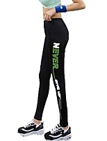 cheap -Yoga Pants Tights Breathability Medium Waist strenchy Sports Wear Women's Yoga Exercise & Fitness