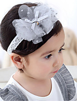 cheap -Girls' Hair Accessories, All Seasons Lace Headbands - Gray