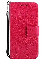 abordables -Funda Para Apple iPhone X iPhone 7 Plus Cartera Flip Funda de Cuerpo Entero Color sólido Dura Cuero de PU para iPhone X iPhone 8 Plus
