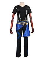 abordables -Inspiré par Étoiles d'ensemble Autre Manga Costumes de Cosplay Costumes Cosplay Autre Manches Longues Manteau Pantalon Gants Plus