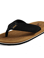 cheap -Ordinary Slippers Men's Slippers Polyester EVA solid color