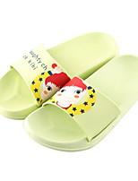 cheap -Ordinary Slide Slippers Slippers Women's Slippers Plastic PVC Leather Animal Print