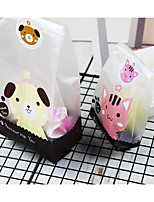 cheap -irregular Plastic Favor Holder with Pattern / Print Favor Bags - 1set