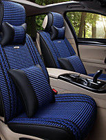 cheap -Car Seat Covers Headrest & Waist Cushion Kits Textile PU Leather For universal All years All Models