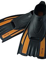 cheap -WAVE Swim Fins / Diving Fins Antiskid, Soft Snorkeling, Diving, Swimming PP, TPE - for Adults Orange