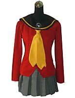 abordables -Inspiré par Série Persona Cosplay Manga Costumes de Cosplay Costumes Cosplay Autre Manches Longues Manteau Jupe Plus d'accessoires Pour