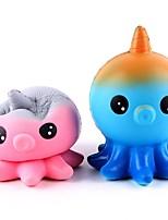 Недорогие -LT.Squishies Резиновые игрушки Животный принт Животный принт Декомпрессионные игрушки PEVA 1pcs Мультяшная тематика Детские Универсальные