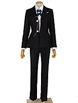 cheap -Inspired by Dangan Ronpa Byakuya Togami Cosplay Anime Cosplay Costumes Cosplay Suits Other Long Sleeves Cravat Coat Shirt Pants More