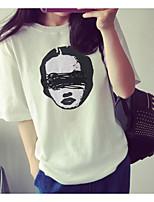 cheap -Women's Cute Cotton T-shirt - Print