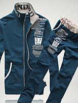 economico -Per uomo Casual Activewear Set Tinta unita