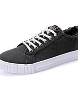 cheap -Men's Shoes Canvas Summer Comfort Sneakers for Casual White Black Gray Green