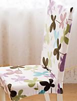 baratos -Moderna 100% Jacquard Poliéster Cobertura de Cadeira, Simples Plantas Estampado Capas de Sofa