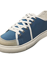 cheap -Men's Shoes Rubber Spring Fall Comfort Sneakers for Outdoor White Black Blue