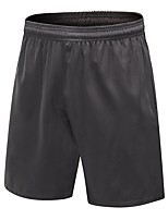 abordables -Homme Shorts de Course Respirabilité Cuissard  / Short Exercice & Fitness Polyester Rouge / Blanc / Gris / Bleu Marine L / XL / XXL