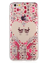 abordables -Coque Pour Apple iPhone 8 iPhone 7 Motif Coque Cœur Fleur Animal Flexible TPU pour iPhone 8 Plus iPhone 8 iPhone 7 Plus iPhone 7 iPhone