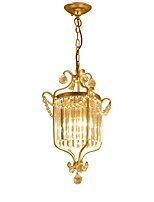 cheap -LightMyself™ Pendant Light Ambient Light - Crystal, Nature Inspired Lantern, 110-120V 220-240V Bulb Not Included