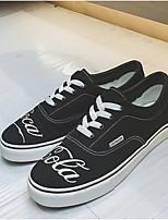 Недорогие -Муж. обувь Ткань Весна Лето Вулканизованная обувь Кеды для Повседневные на открытом воздухе Белый Красный
