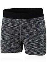 abordables -Femme Shorts de Course Respirabilité Cuissard  / Short Exercice & Fitness Polyester Noir Violet Rouge Vert Bleu S M L XL XXL
