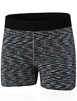 preiswerte -Damen Laufschuhe Atmungsaktivität Shorts/Laufshorts Übung & Fitness Polyester Schwarz Purpur Rot Grün Blau S M L XL XXL