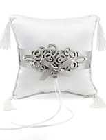 cheap -Satin Ring Pillow Classic Theme Wedding All Seasons