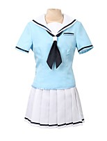 cheap -Inspired by BanG Dream Other Anime Cosplay Costumes Cosplay Suits Other Short Sleeves Top Skirt Socks More Accessories For Men's Women's