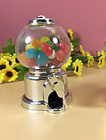 cheap -irregular Polystyrene Plastic Favor Holder with Apothecary Candy Jar - 1pc