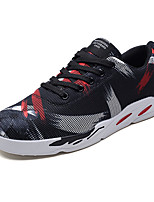 cheap -Men's Shoes Tulle Spring Fall Comfort Sneakers for Casual Black/White Black/Red Black/Blue