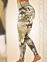 cheap -Women's Sporty Legging Geometric Mid Waist