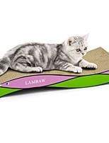 cheap -Scratch Pad Multi Color Scratch Pad Help to lose weight Catnip Cardboard Paper For Cat Kitten
