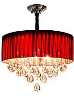 abordables -QIHengZhaoMing LED Chic & Moderne Lampe suspendue Lumière d'ambiance - Cristal Protection des Yeux, 110-120V 220-240V Ampoule incluse