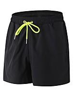 abordables -Homme Shorts de Course Respirabilité Cuissard  / Short Activités Extérieures Jogging Polyester Blanc Noir Bleu Rouge/Blanc Gris S M L XL