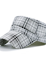 cheap -Unisex Work Casual Cotton Polyester Beret Hat Sun Hat Baseball Cap - Check